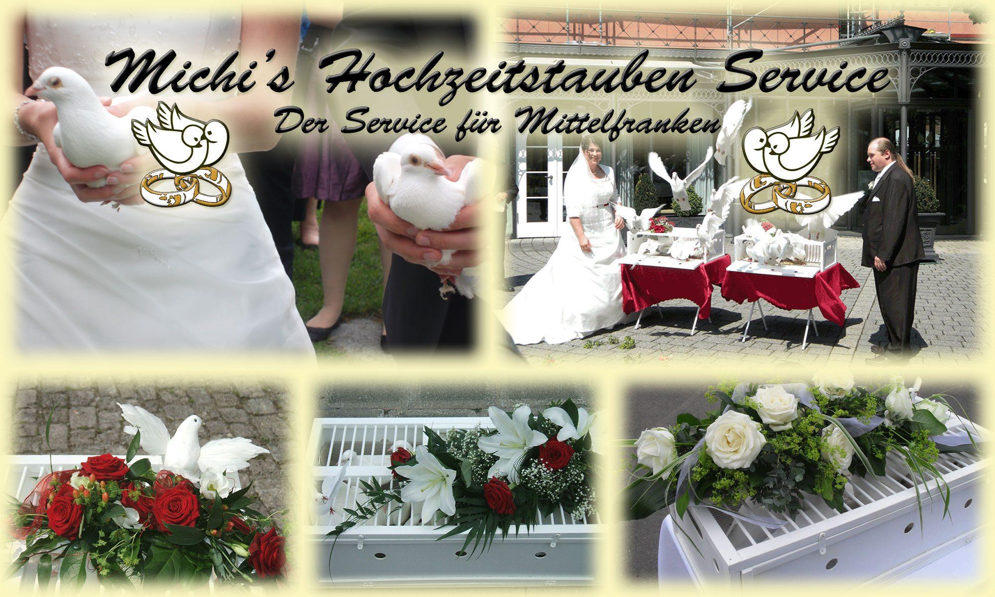 Michis Hochzeitstauben